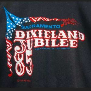 VINTAGE 80s Dixieland Jubilee Shirt Sacramento